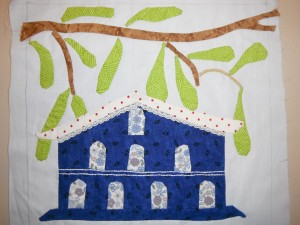 bloc N°4 de birdhouses lane  dans patchwork bloc-n6-030-300x225